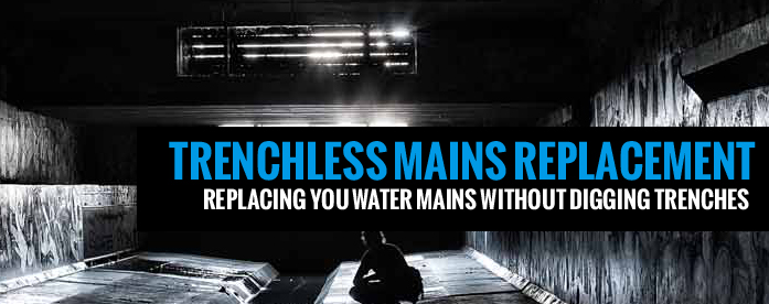 trechless water mains & drain replacement services